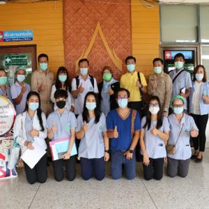 สสจ.เพชรบูรณ์ตรวจเยี่ยมติดตามความคืบหน้าการจัดทำวีดีทัศน์ประกวดพื้นแบบแพทย์แผนไทย (14 มิ.ย.)
