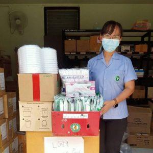 ขอบคุณน้ำใจไทยสู้ภัยโควิด-19 โรงพยาบาลวังโป่ง (17 มิ.ย. 64)