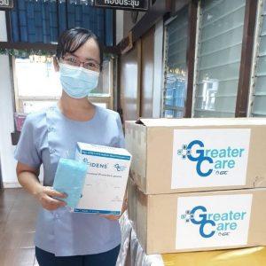ขอบคุณน้ำใจไทยสู้ภัยโควิด-19 โรงพยาบาลวังโป่ง (23 มิ.ย. 64)